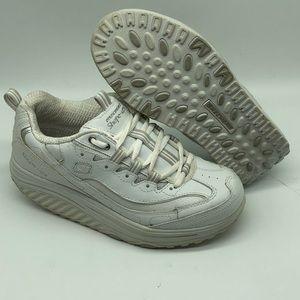 Sketchers Shape Ups White Toning Shoes